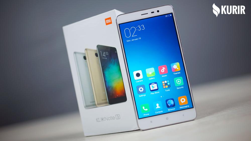 Smartphone RAM 3GB Harga 1 Jutaan Xiaomi Redmi Note 3