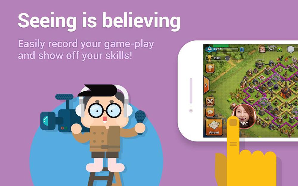 Game Duck : Aplikasi Perekam Layar Android