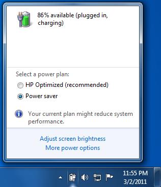 Cara Menghilangkan Tanda Silang Merah Pada Baterai Laptop di Windows 7