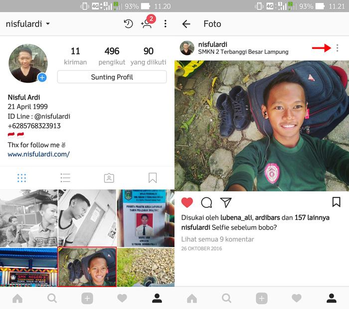 Cara Menghilangkan Foto di Instagram Tanpa Harus Menghapusnya