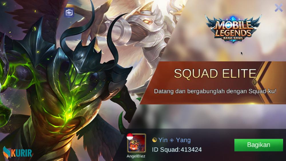 Open Squad Mobile Legends 2019