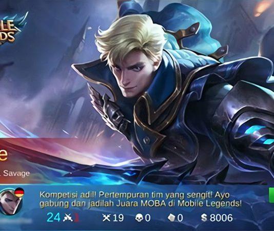 Build Alucard Savage di Mobile Legends
