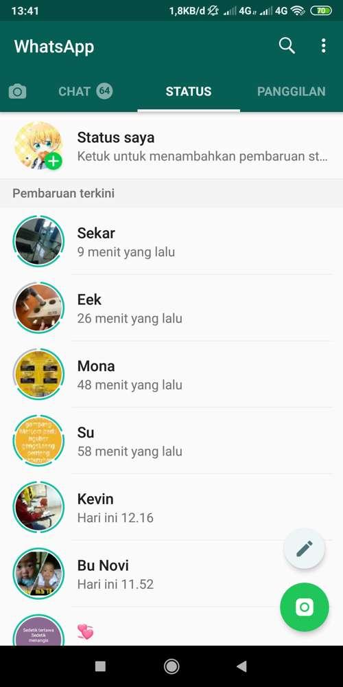 Status Musik Whatsapp