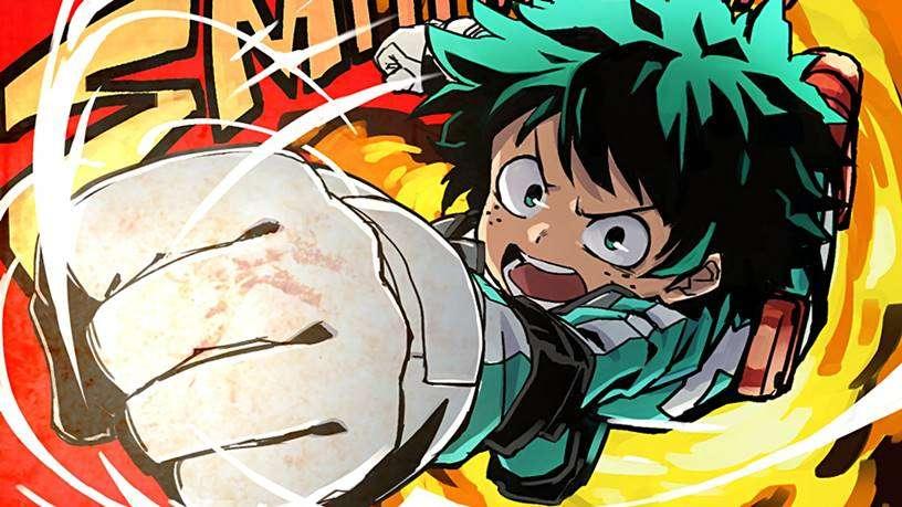Karakter Anime Terkuat : Midoriya Izuku