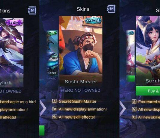 Skin Terbaru Mobile Legends