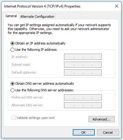 IP DHCP
