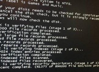 Cara Mengatasi Checking File System on C