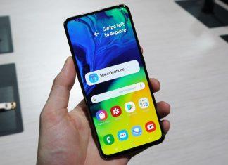 Cara Screenshot Samsung Galaxy A80