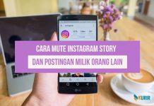 cara mute instagram story