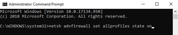 Menghidupkan Firewall