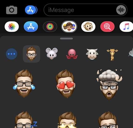 Menggunakan Memoji di iPhone