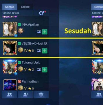 cara mengubah nickname mobile legends