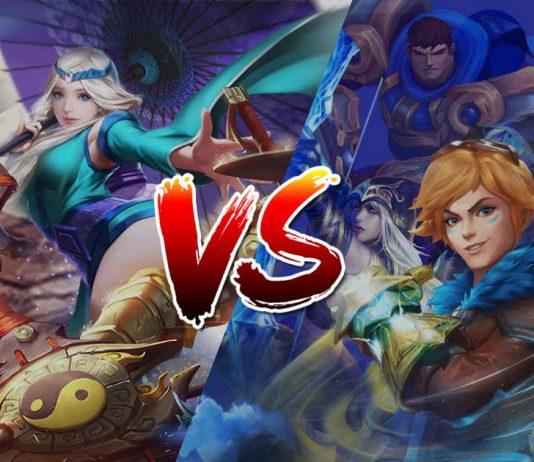 LoL Wild Rift vs Mobile Legends