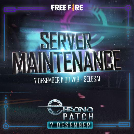 Free Fire Server Maintenance
