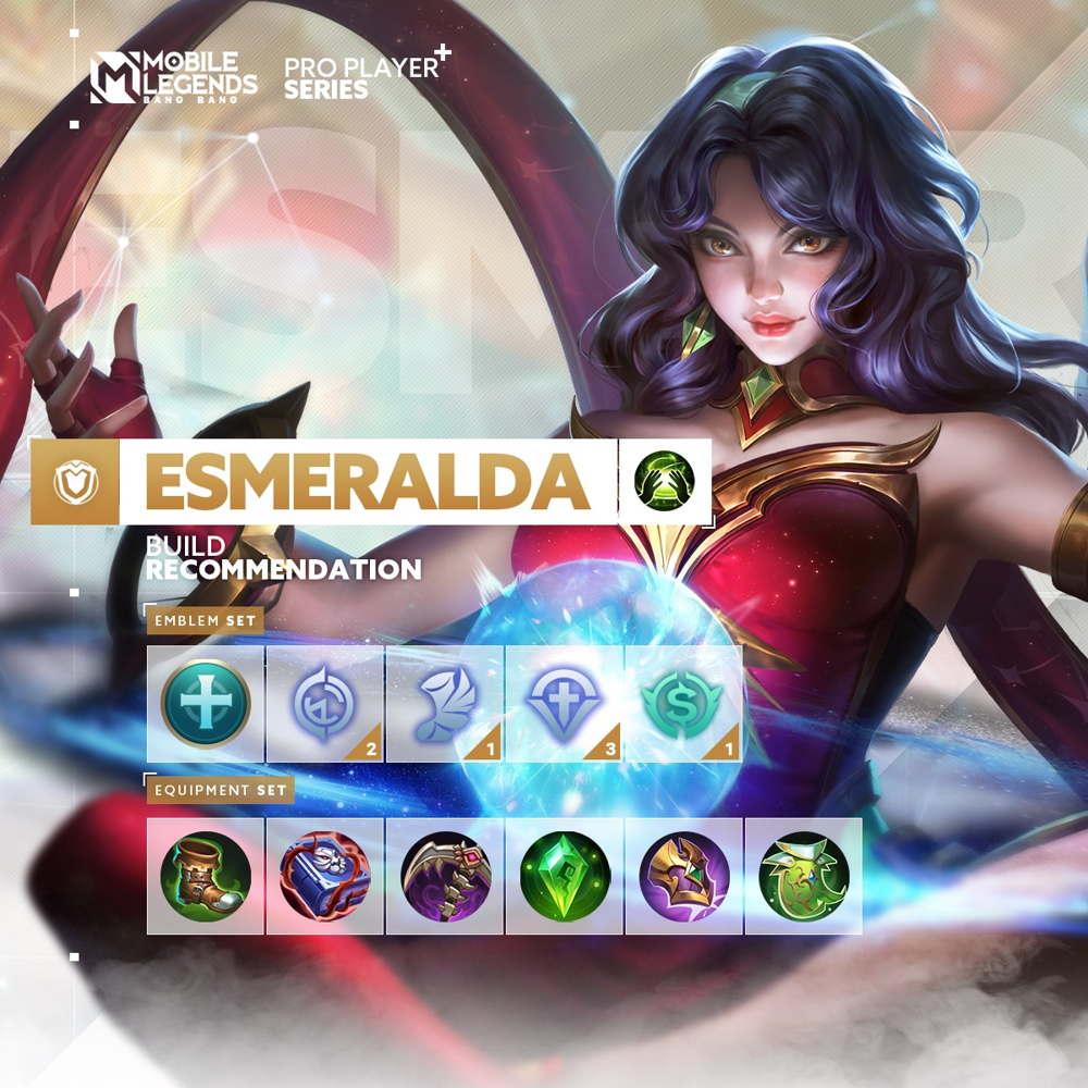 Build Esmeralda Tersakit 2021