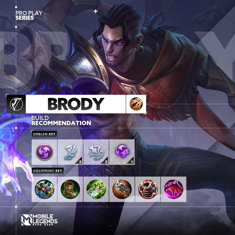 Build Tersakit Brody 2021