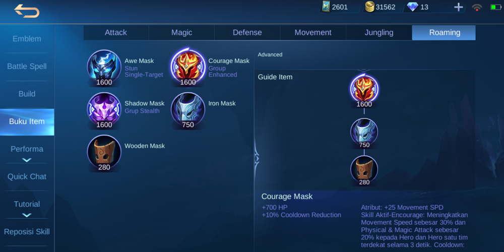 Courage Mask