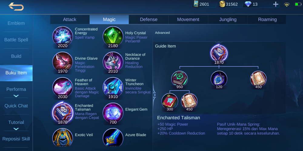 Enchanted Talisman