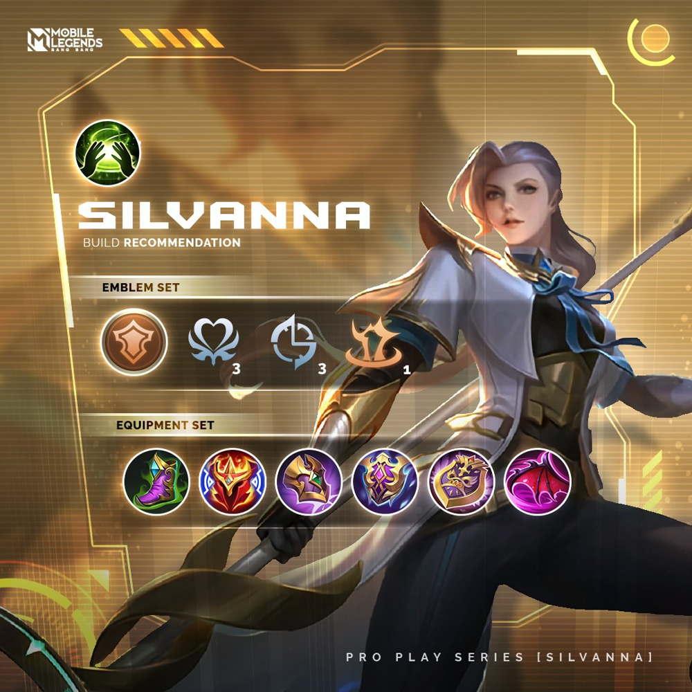 Build Silvanna Tersakit 2021