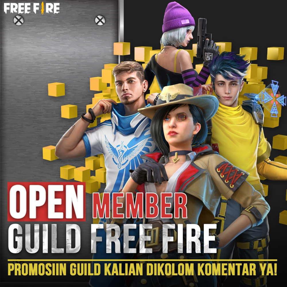 Open Member Guild Ff 2021 Rajin Tournament Buruan Daftar