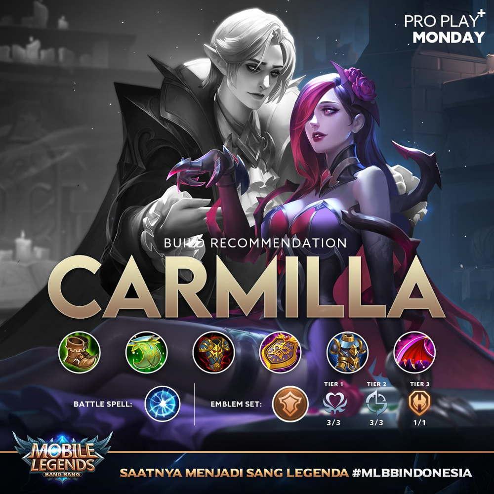 Build Carmilla Tersakit 2021