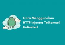 Cara Menggunakan HTTPS Injector Telkomsel Unlimited