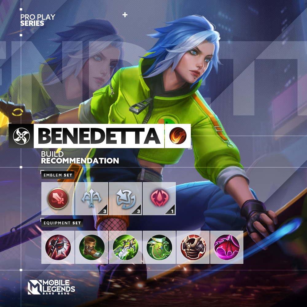 Build Benedetta Tersakit 2021