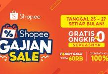 Cara Daftar Gratis Ongkir Shopee