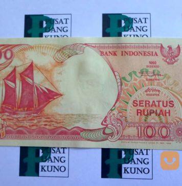 Uang 100 Rupiah 1992 Sangat Mahal