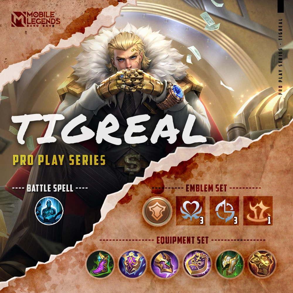 Build Tigreal Tersakit 2021