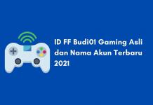 ID FF Budi01 Gaming Asli