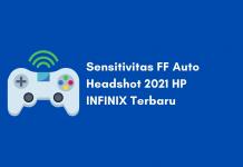 Sensitivitas FF Auto Headshot HP INFINIX