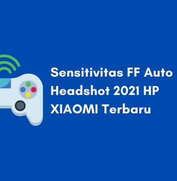 Sensitivitas FF Auto Headshot HP XIAOMI