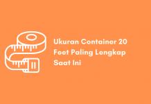 Ukuran Container 20 Feet