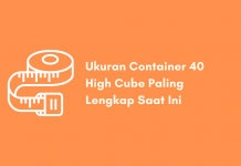 Ukuran Container 40 High Cube